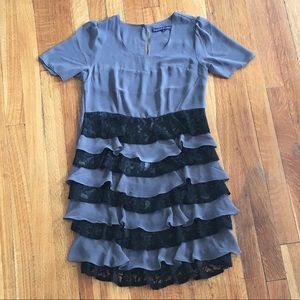 ModCloth Ruffled Dress Size: S